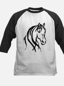 Black Horse Baseball Jersey