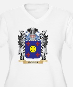 Jagger Coat of Arms - Family Cre Plus Size T-Shirt