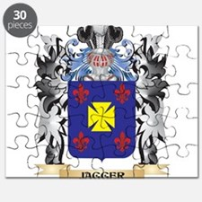 Jagger Coat of Arms - Family Crest Puzzle