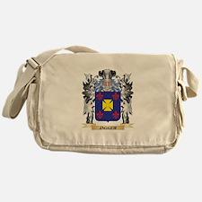 Jagger Coat of Arms - Family Crest Messenger Bag