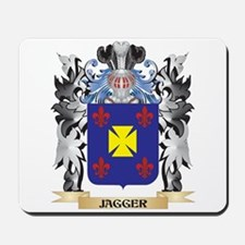 Jagger Coat of Arms - Family Crest Mousepad