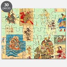 Japanese Samurai Warriors Medley Puzzle