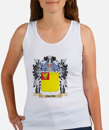 Jakob Coat of Arms - Family Crest Tank Top