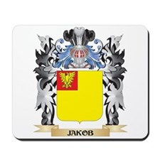 Jakob Coat of Arms - Family Crest Mousepad