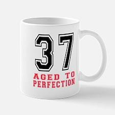 37 Aged To Perfection Birthday Designs Mug