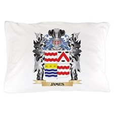 James- Coat of Arms - Family Crest Pillow Case