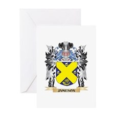 Jameson Coat of Arms - Family Crest Greeting Cards