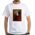 Lincoln's Maltese White T-Shirt
