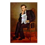 Lincoln's Maltese Postcards (Package of 8)