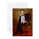 Lincoln's Maltese Greeting Cards (Pk of 10)