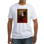 Lincoln's Maltese Fitted T-Shirt