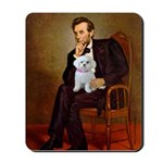 Lincoln's Maltese Mousepad