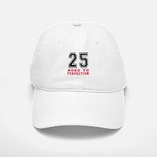 25 Aged To Perfection Birthday Designs Baseball Baseball Cap
