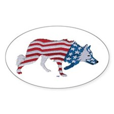 Border Collie all American Decal