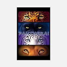 Panthera! 2 Rectangle Decal