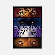 Panthera! 2 Rectangle Magnet