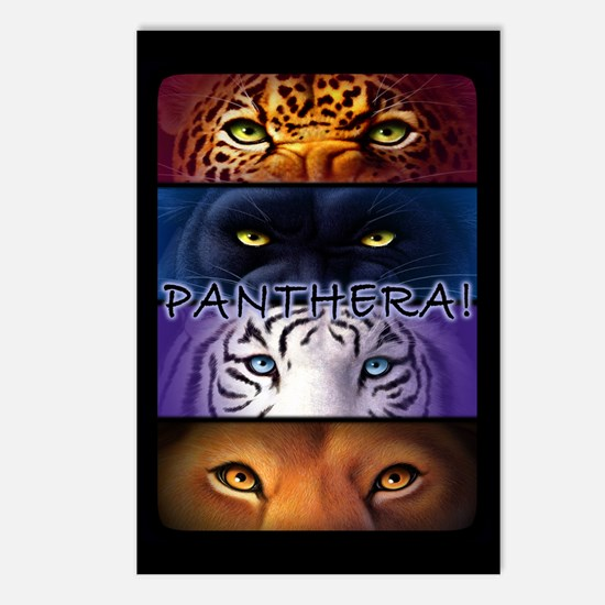 Panthera! 2 Postcards (Package of 8)