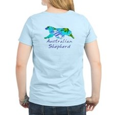 large aussie group in tie dye pattern!!! T-Shirt