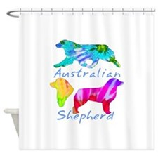small group dark and white Shower Curtain