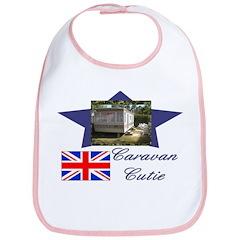 Caravan Cutie Flag Bib