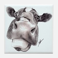 Mad Cow Tile Coaster