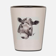 Mad Cow Shot Glass