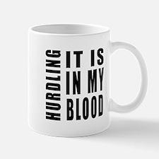 Hurdling it is in my blood Mug