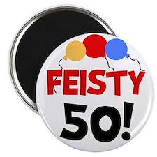 Feisty 50 Magnet