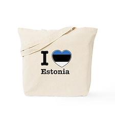 I love Estonia Tote Bag