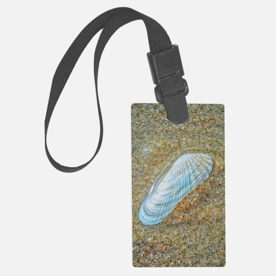 Angelwing Seashell Luggage Tag