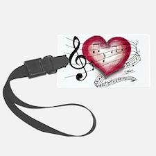 Love Music Luggage Tag