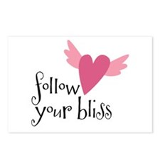 follow your bliss Postcards (Package of 8)