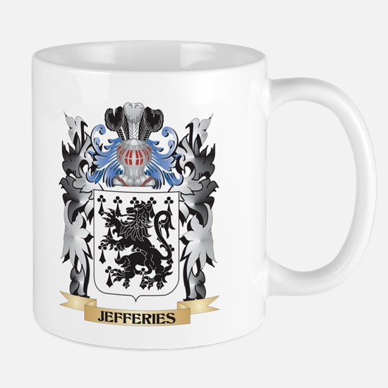 Jefferies Coat of Arms - Family Crest Mugs