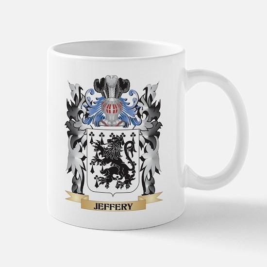 Jeffery Coat of Arms - Family Crest Mugs