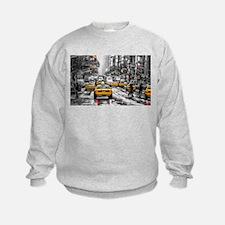 I LOVE NYC - New York Taxi Sweatshirt