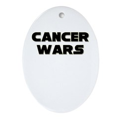 'Cancer Wars' Oval Ornament