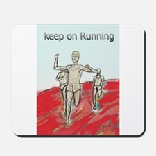 Athletics Running design Mousepad