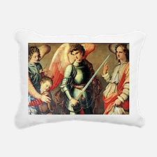Archangels Rectangular Canvas Pillow
