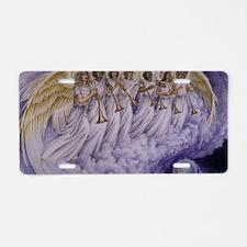 7 Archangels Aluminum License Plate