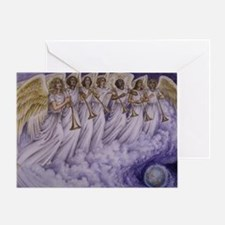 7 Archangels Greeting Card