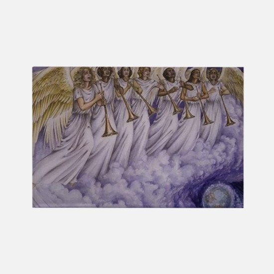 7 Archangels Rectangle Magnet