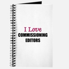 I Love COMMISSIONING EDITORS Journal