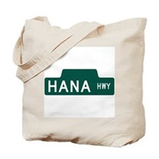 hana highway, hi road Tote Bag