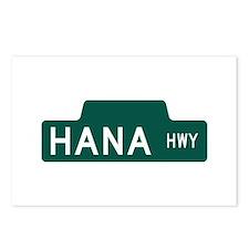hana highway, hi road Postcards (Package of 8)