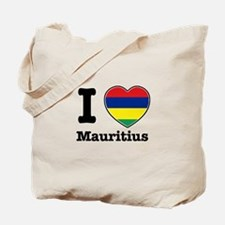 I love Mauritius Tote Bag