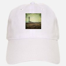 coastal nautical vintage lighthouse Baseball Baseball Cap