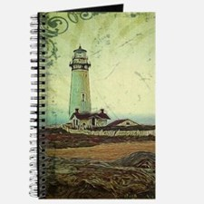 coastal nautical vintage lighthouse Journal