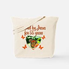 CHRISTIAN 55TH Tote Bag