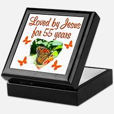 CHRISTIAN 55TH Keepsake Box