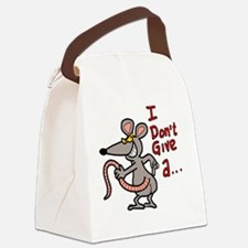 Cute Coffee girl Canvas Lunch Bag